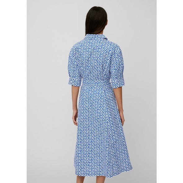 Allover-Print-Blusenkleid