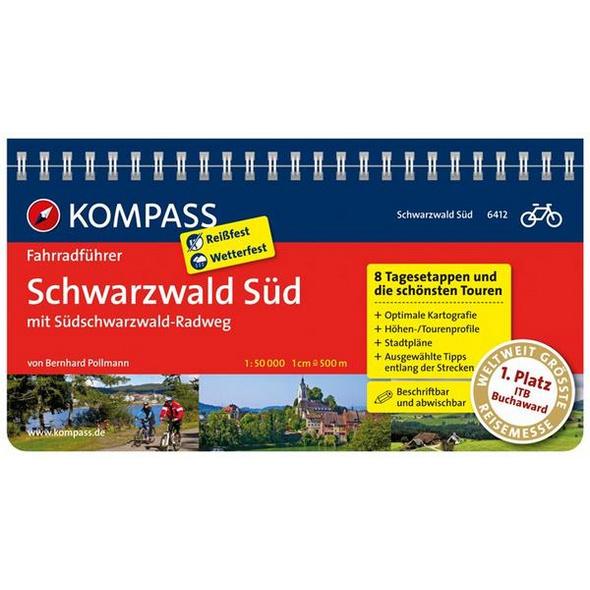 KOMPASS Fahrradführer Schwarzwald Süd mit Südschwarzwald Radweg