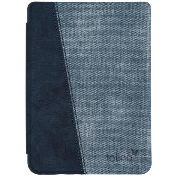 tolino page 2 - Tasche Slim - denim blue