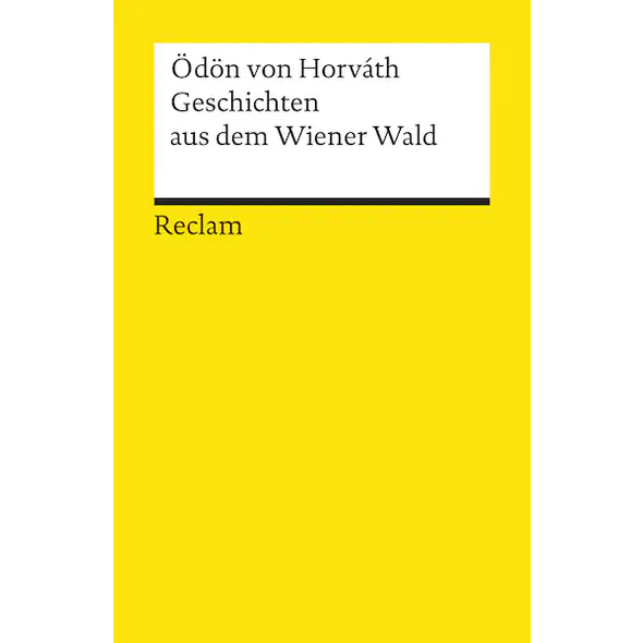 Geschichten aus dem Wiener Wald. Volksstück
