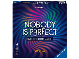 Ravensburger 26845 - Nobody is perfect Original, Familienspiel, Partyspiel