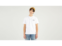 SS RELAXED FIT TEE SSNL MV LOGO 2 WHITE
